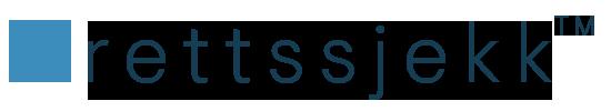 Rettssjekk logo